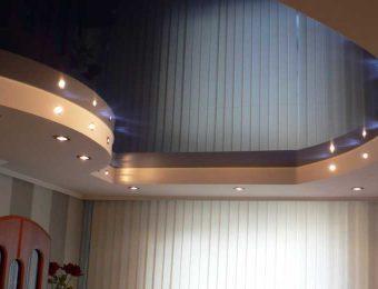 лучшие глянцевые натяжные потолки