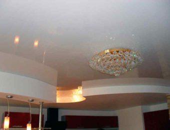 натяжные потолоки пвх с подсветкой