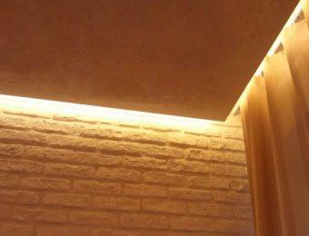 бесщелевые парящий потолок