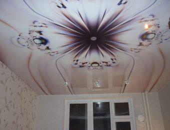 натяжной потолок с фотопечатью плюсы и минусы