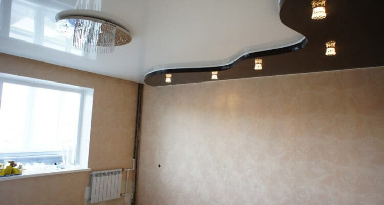 Натяжные потолки для зала в Рязани
