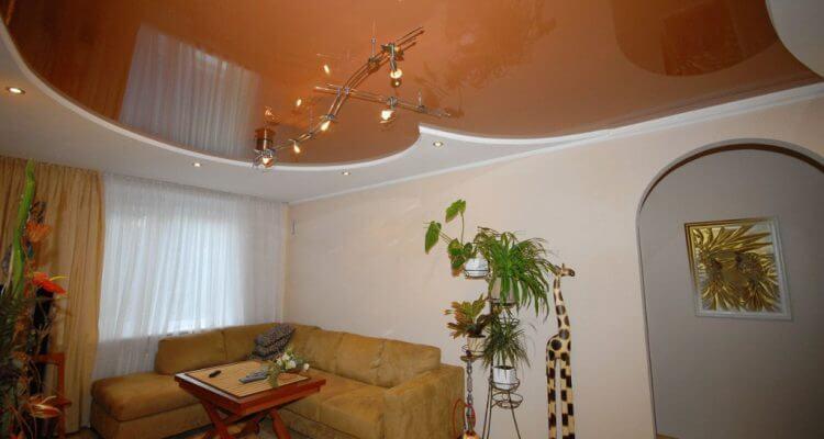 Натяжные потолки в квартире в Рязани