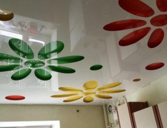 перфорированные натяжные потолки полотно